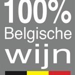 100% belgische wijn