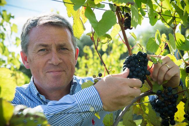 Lodewijk Waes, voorzitter Belgische Wijnbouwers vzw Wines of Belgium